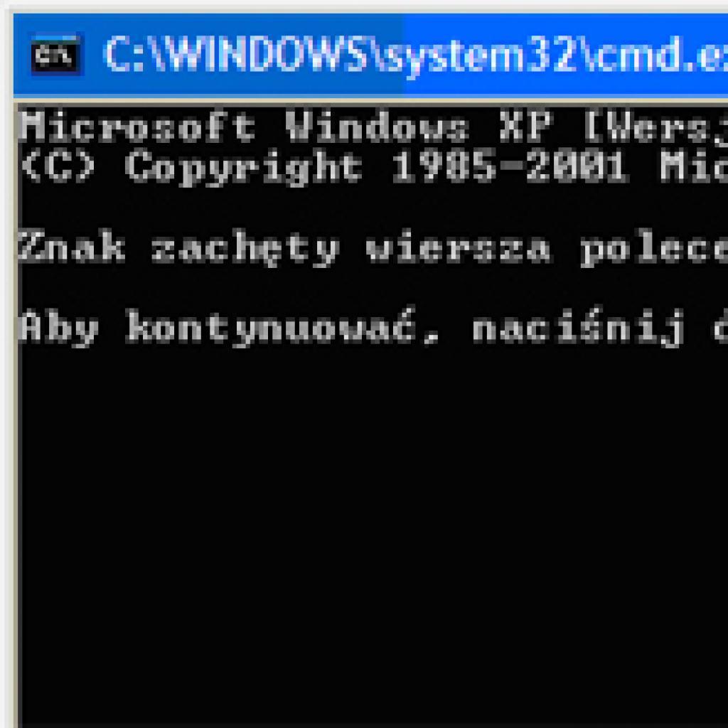 Zablokowany Wiersz Polecenia Porady Komputerowe