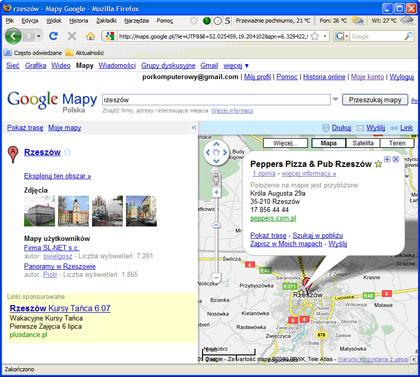 Mapy Google Dodawanie Lokalizacji Do Ulubionych Porady Komputerowe